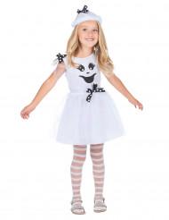 Disfraz de fantasma niña