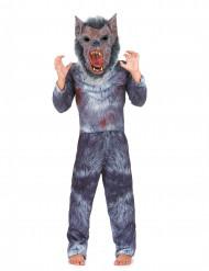 Disfraz de hombre lobo niño