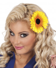 Accesorio para el pelo flor de girasol mujer
