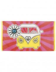 Bandera Hippie Flower 90x150 cm