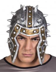 Casco látex caballero guerrero adulto