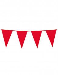 Guirnalda banderines rojos 10 m