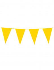 Guirnalda banderines amarillos 10 m