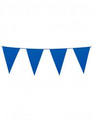 Guirnalda banderines azules 10 m