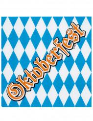 12 Servilletas papel Oktoberfest 33x33 cm