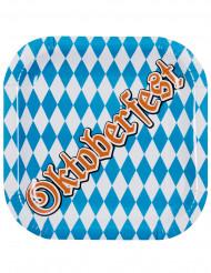 6 Platos cartón Oktoberfest 25 cm
