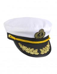 Gorra capitán marinero adulto