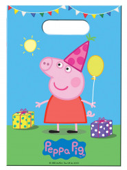 8 Bolsas regalos Peppa Pig™