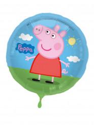 Globo aluminio Peppa Pig™ 43 cm