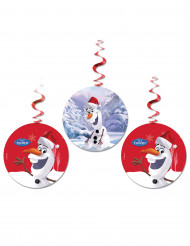 3 Decoraciones colgantes Olaf Christmas™