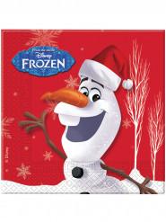 20 Servilletas papel Olaf Navidad™