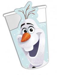 8 Vasos de cartón Olaf Christmas™