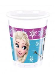 8 Vasos de plástico Frozen™ 200ml