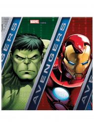 20 Servilletas papel Los Vengadores Ultimate Power™ 33 cm