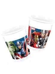 8 Vasos plástico Los Vengadores Power™ 200 ml