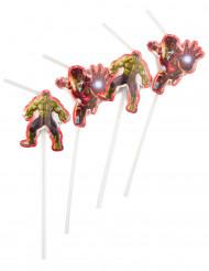 6 Pajitas Los Vengadores: La era de Ultron™