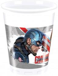 8 Vasos Los Vengadores Civil War™