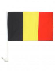 Bandera para coche Bélgica 30x46 cm