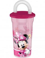 Vaso de plástico con pajita Minnie™