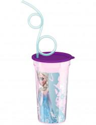 Vaso con pajita Frozen™