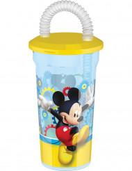 Vaso con pajita Mickey™