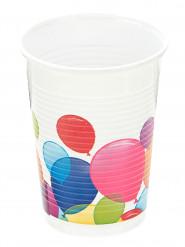 10 Vasos de globos