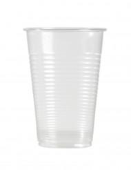 100 Vasos transparentes 20 cl