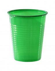 50 Vasos verdes plástico 50 cl