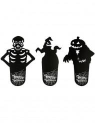 6 Posa vasos Halloween