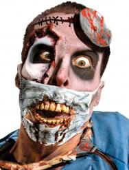 Mascarilla de cirujano zombie adulto Halloween