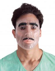 Máscara transparente hombre adulto