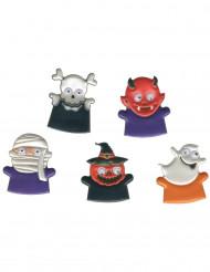 Marionetas de dedo forma de monstruos