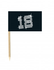 10 Palillos banderas 18 VIP