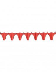 Guirnalda ignífuga toro rojo