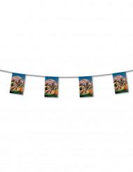 Guirnalda banderines papel Country 4 m