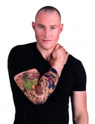 Manga tatuajes payaso adulto