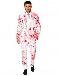 Traje de Halloween blanco sangriento hombre Opposuits™