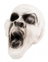 Decoración de cabeza de zombie 15x15 cm Halloween