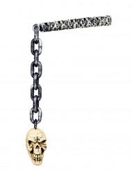 Maza de cadena esqueleto 82 cm