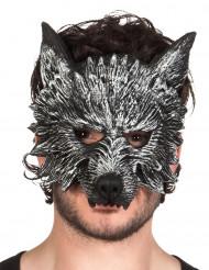 Máscara hombre lobo adulto