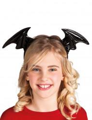 Diadema alas de murciélago niño Halloween