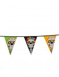 Guirnalda banderines Día de los Muertos 10 m