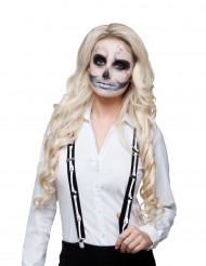 Tirantes esqueleto adulto Halloween