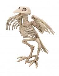 Decoración de esqueleto cuervo 19,5 cm Halloween