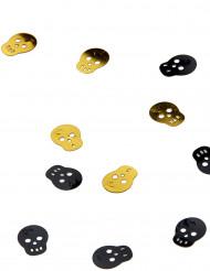 Confetis calavera pirata