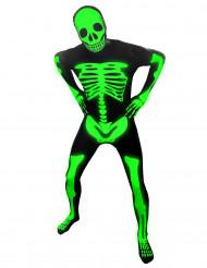 Disfraz esqueleto fosforescente niño Morphsuits™