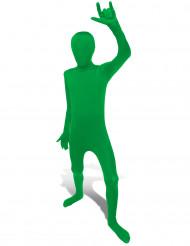 Disfraz verde Morphsuits™ niño