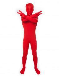 Disfraz rojo Morphsuits™ niño