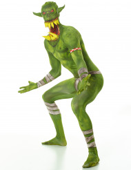 Disfraz monstruo verde adulto Morphsuits™