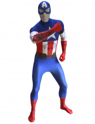 Disfraz Morphsuits™ Capitán América digital adulto